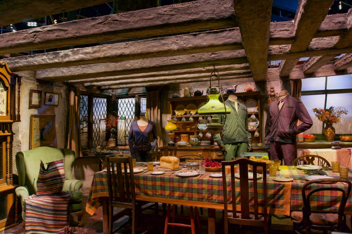 The Burrow - The Making of Harry Potter
