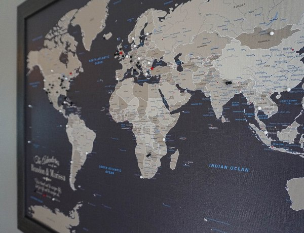 Travel Must Have - Push Pin Travel Maps