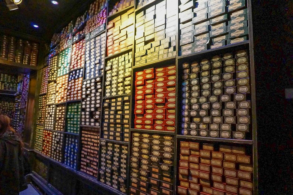 Wands The Making of Harry Potter WB Studios London