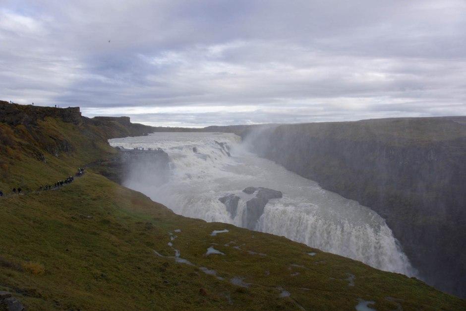 Gullfoss Waterfall Iceland's Golden Circle Road Trip