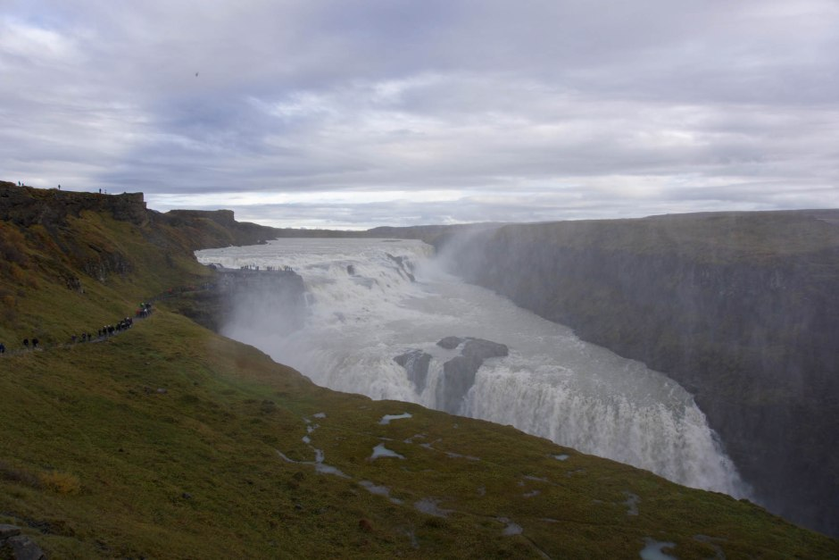 Gullfoss Waterfall Iceland's Golden Circle Road Trip