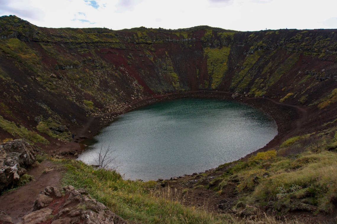 Kerid Crater Iceland's Golden Circle Road Trip