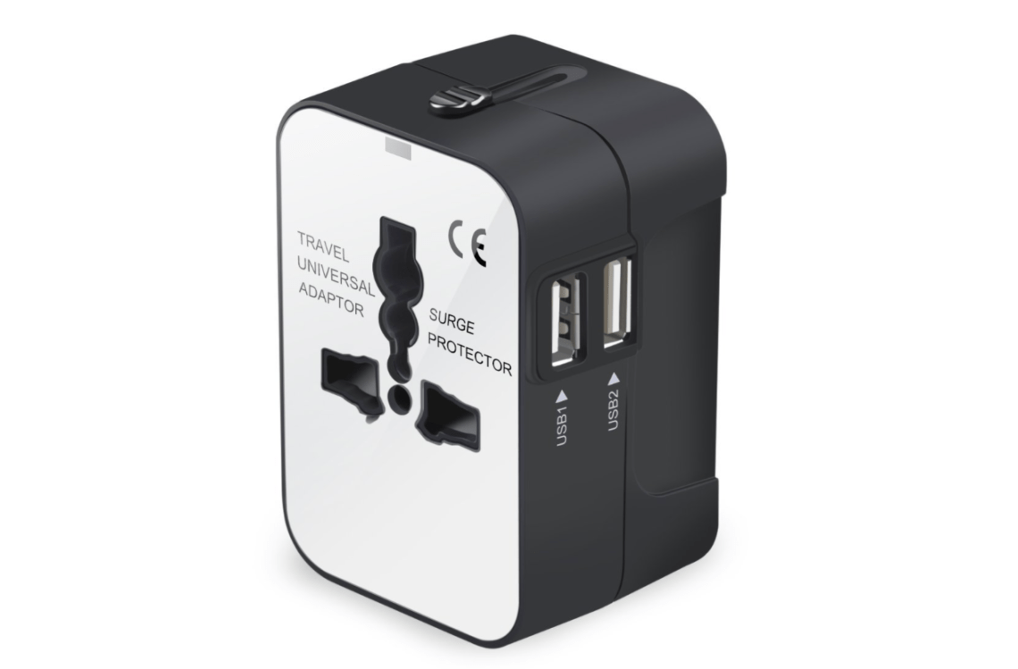 Universal Travel Adaptor - Travelers Gift Guide