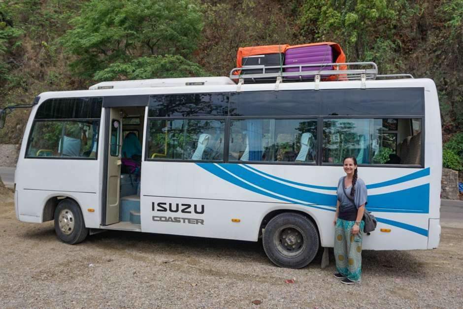 Nepal Safety Tips - Tourist Bus