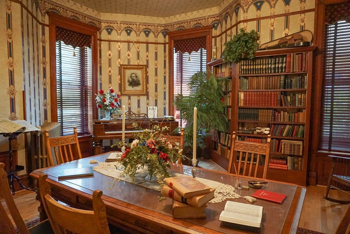 Ivinson Mansion Library Laramie Plains Museum