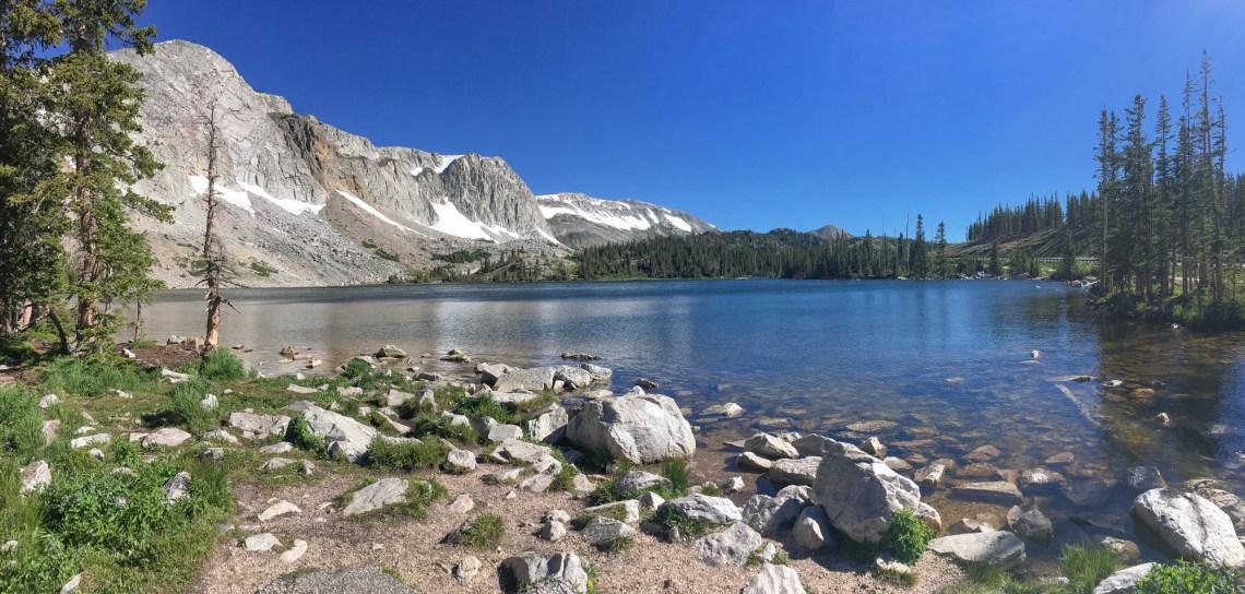 Lake Marie Wyoming Women