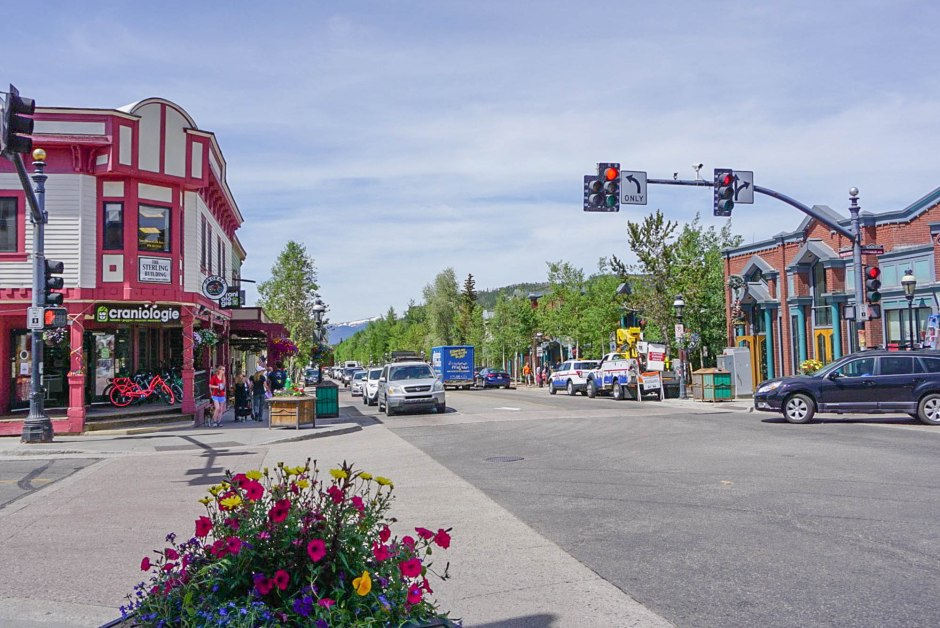 Main Street Best of Breckenridge Colorado