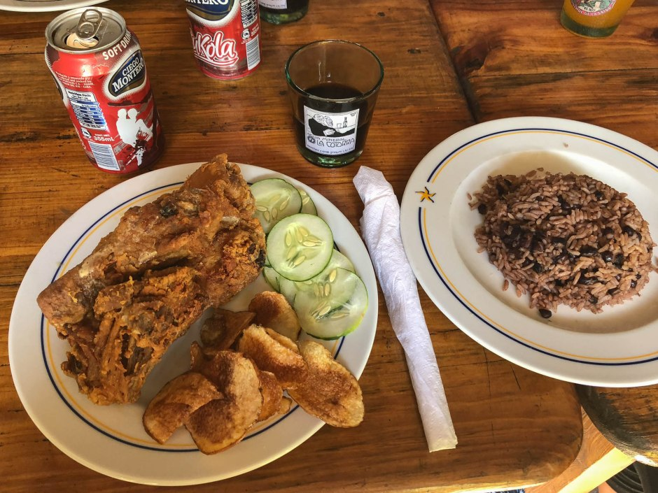 Fried Chicken Regla Havana Cuba