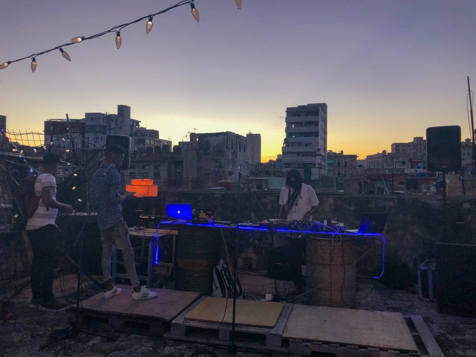 Guámpara Studios Rooftop Concert DJ Jigue