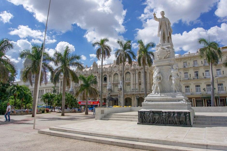 Parque Central Havana Cuba