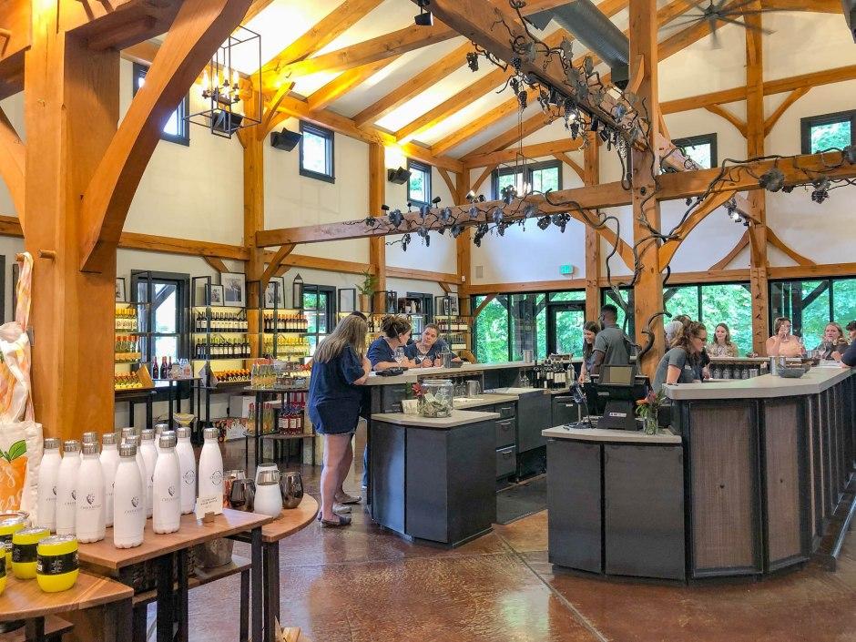 Oliver Winery Tasting Room Bloomington Indiana