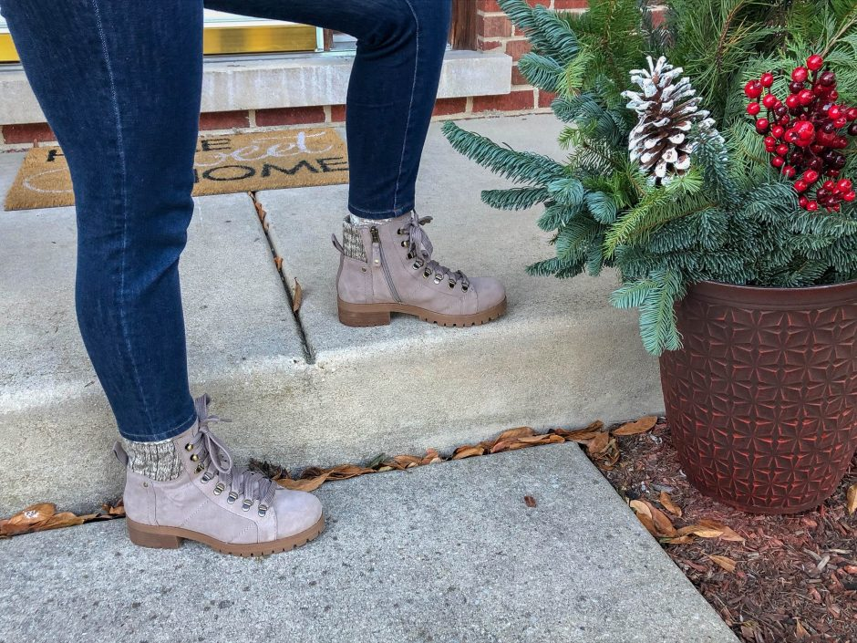 Lakewood in Pine Bark Ankle Boots