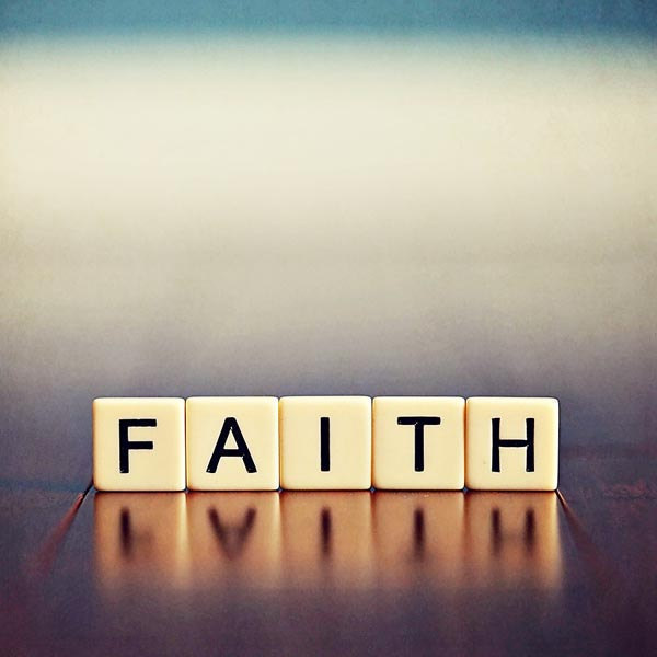 Faith is What Makes Me a Christian
