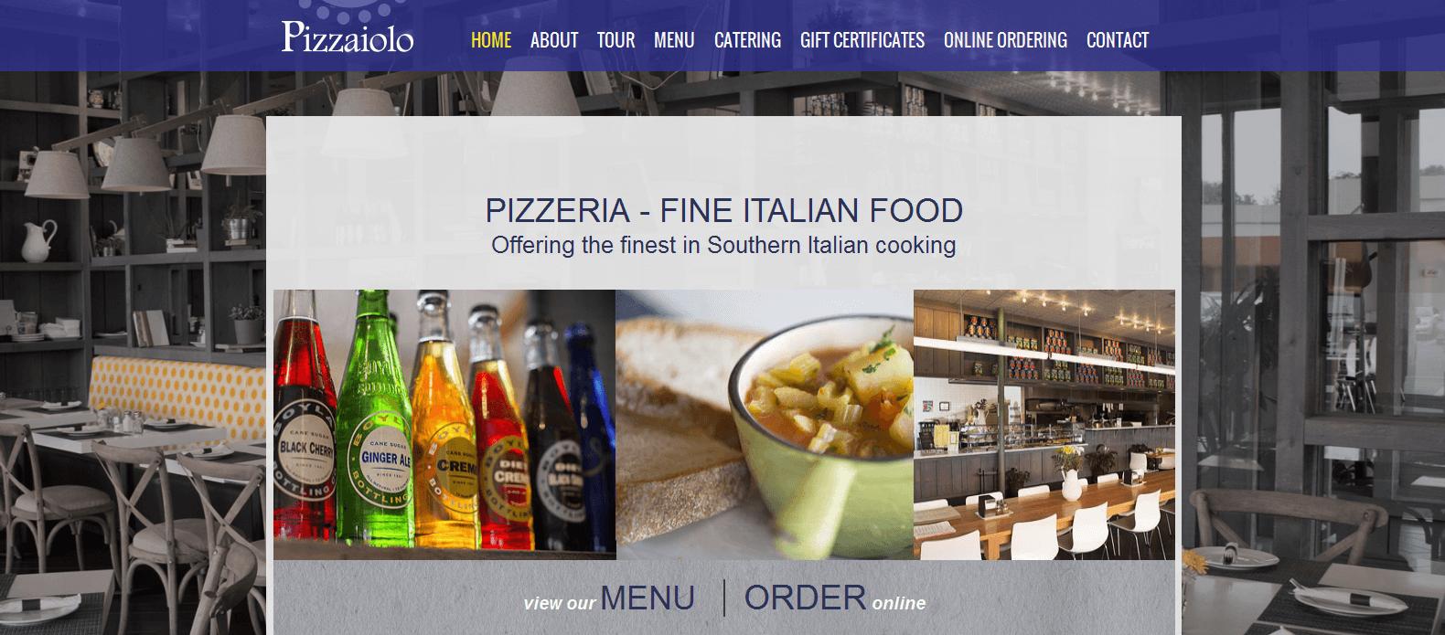 Pizzaiolo Italian Restaurant Midland Park NJ