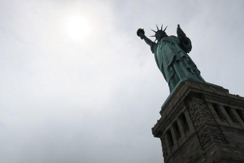 Die Frau, die für Freiheit steht: Liberty- & Ellis Island