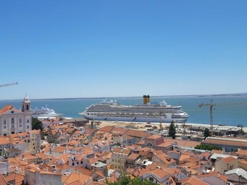 Blick über Lissabon: Igreja de Santa Luzia