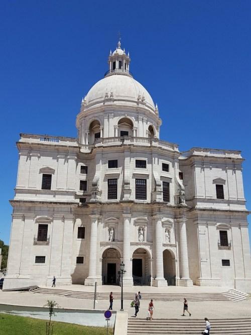 Spaziergang durch das Lissaboner Viertel Alfama: National Pantheon