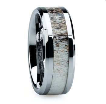 7 Unique Modern Men S Wedding Rings Made Of Bamboo Antler Meteorite And More