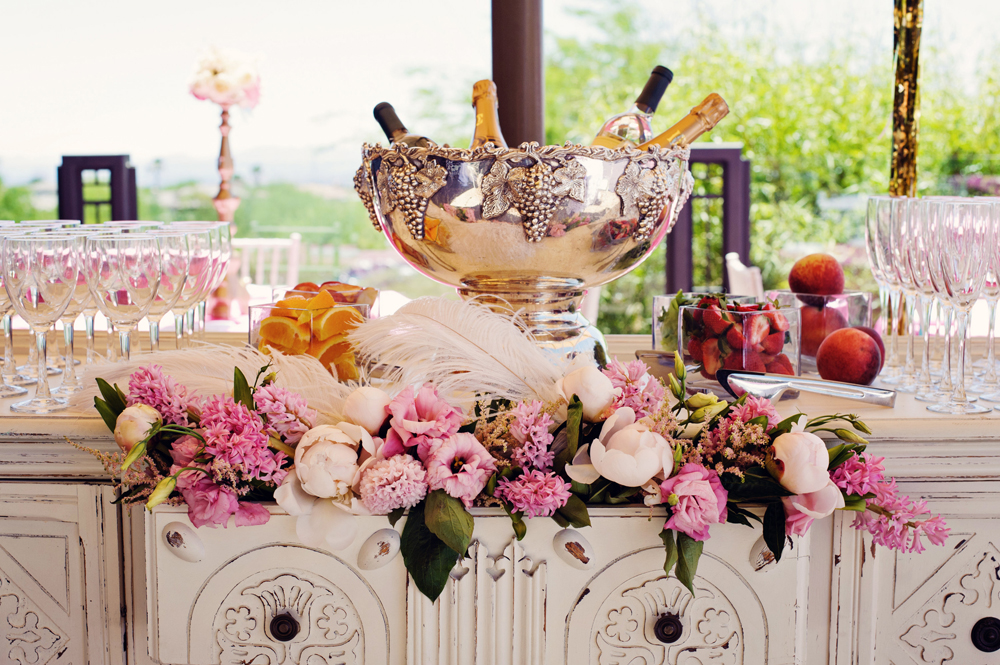 kitchen themed bridal shower cabinets los angeles whimsical at red rock country ...
