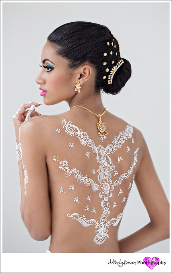 Bridal Body Art Inspiration From Amelia C And Mindy Bean