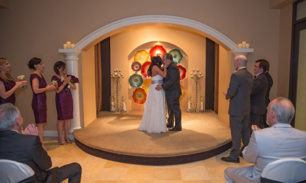 Chapel Wedding at Planet Hollywood and Strip Photo Tour from Neon Sun Photography  Little Vegas