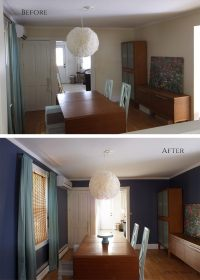 Why dark walls look good in a room with little natural ...