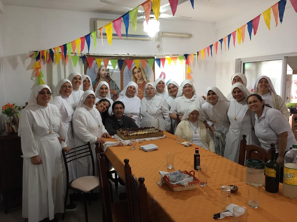 Celebrating our feast; The Sacred Hearts of Jesus and Mary (Resistencia- Argentina)