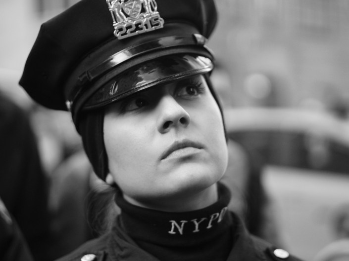 NYC Women's March on Jan 21, 2017