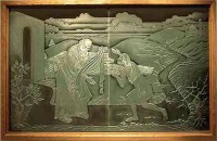 etched glass, carved glass art by liturgical environments ...