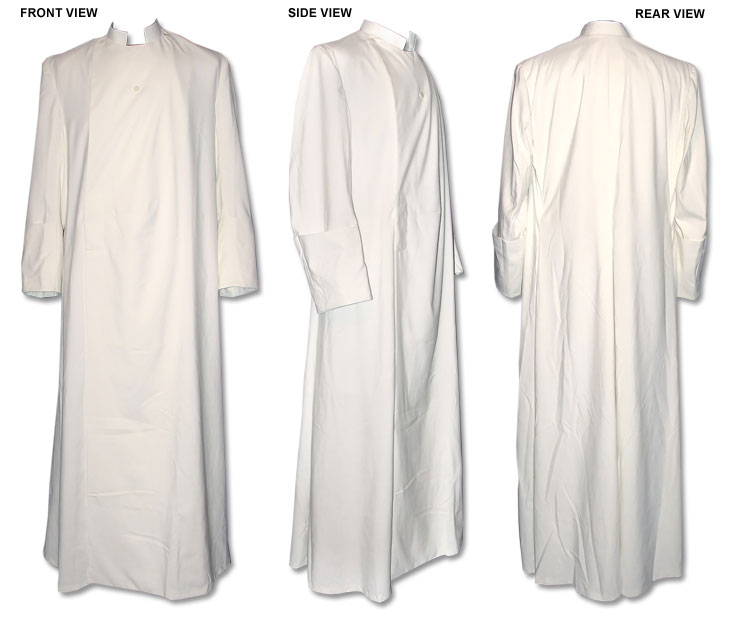 Anglican Style Double Breasted Cassock