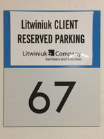 Litwiniuk Visitor Parking