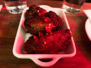 Chuko soy chili wings