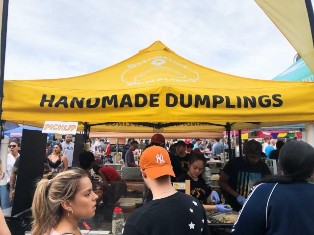 Destination Dumplings Stand