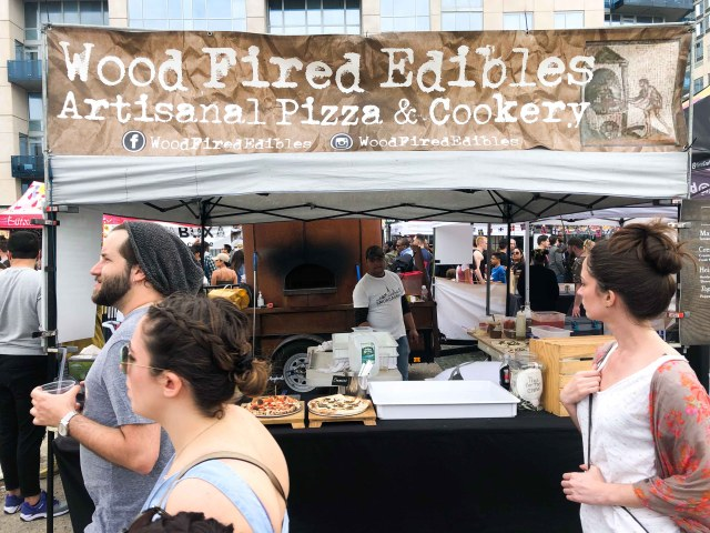 Wood Fired Edibles Stand