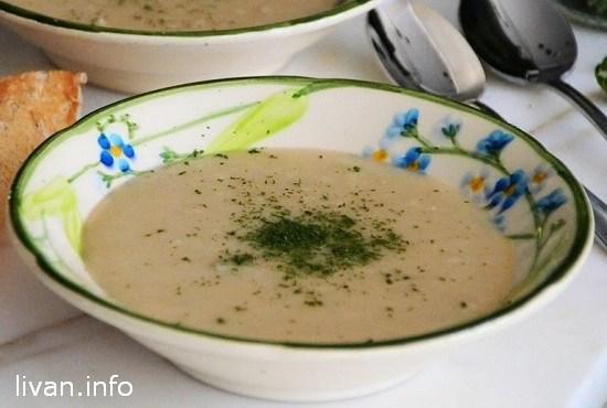 Суп из крупы Кишк