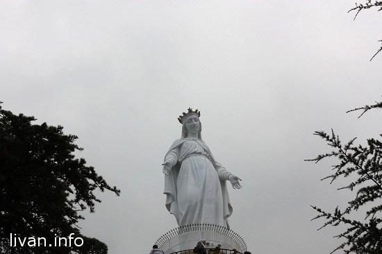 """Дева Мария, гора Хариса Ливан. """"Санта Мария"""""""