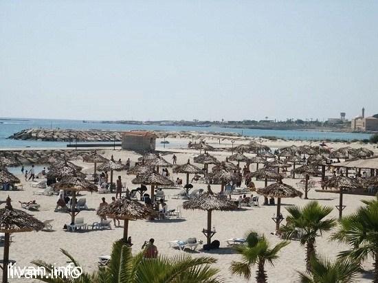 Пляжи в Ливане
