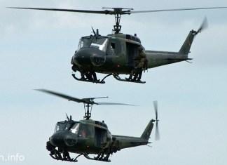 США поставит Ливану 18 вертолетов Huey II