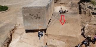 В Ливане (Баальбек) раскопали самый большой монолит за всю историю