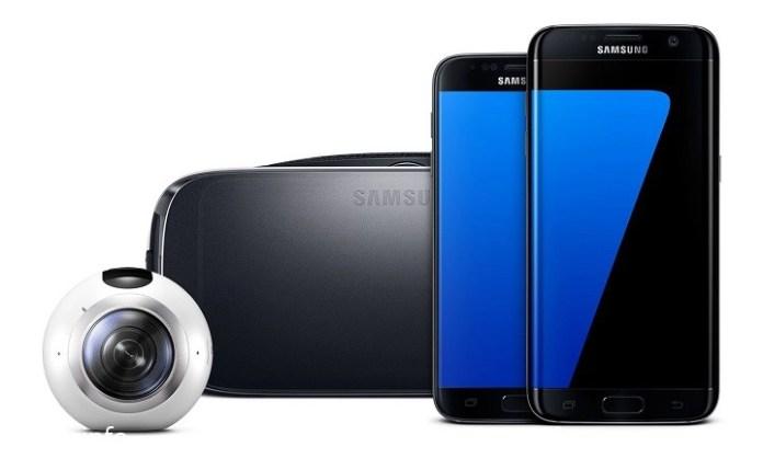 Samsung представила Galaxy S7, Galaxy S7 edge и панорамную камеру Gear 360.