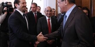Саад Харири встретился с Сергеем Лавровым в Москве