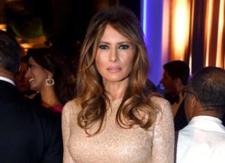 Мелания Трамп в платье ливанского дизайнера