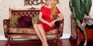Жена Почетного Консула Ливана Елена Слим
