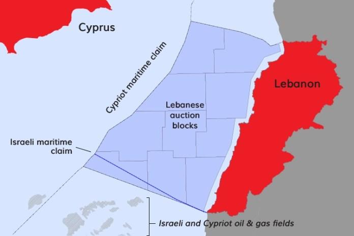 """Добычей нефти и газа в Ливане займутся """"Лукойл"""" и """"Новатэк""""."""