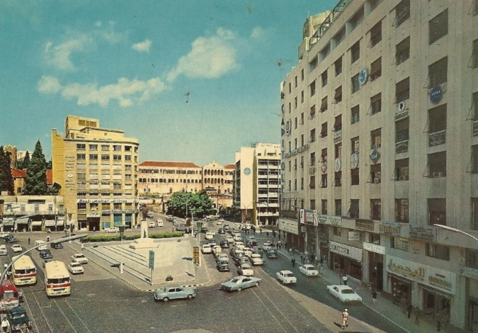 Улица Риад Эль Солх в 1968 году