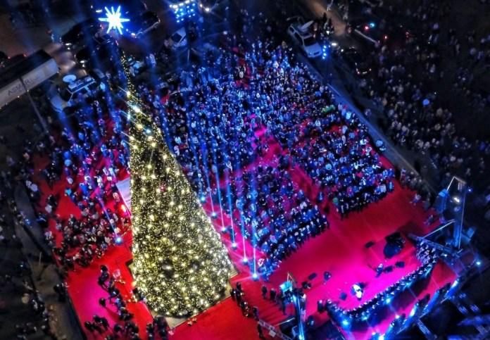 Рождественская елка в Бейруте