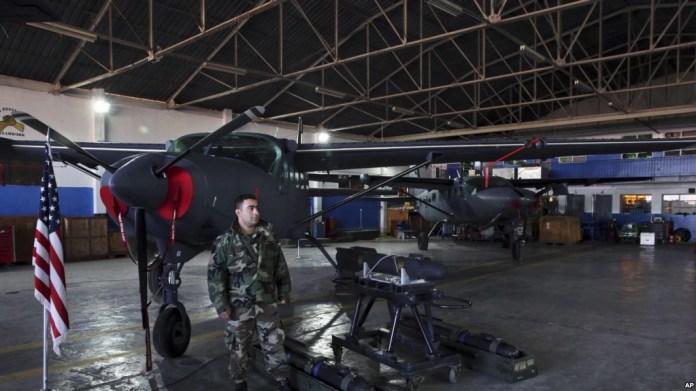 Армия Ливана получила американские ракеты с лазерным наведением.