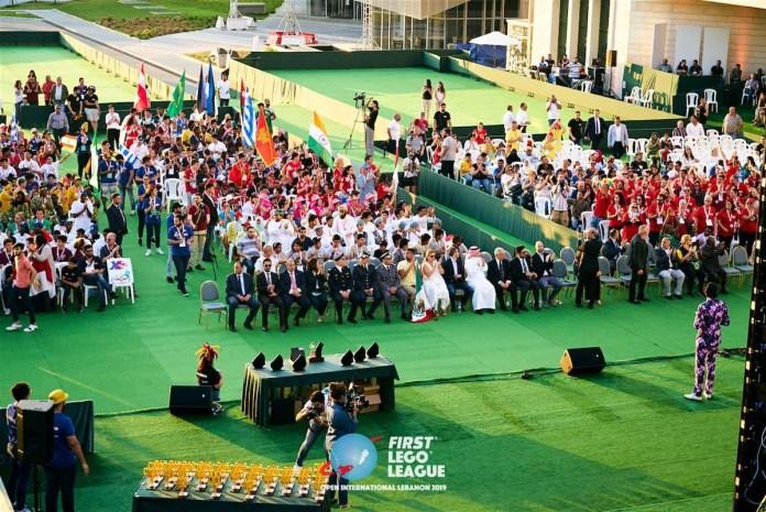 В Ливане прошел первый международного чемпионата по робототехнике First Lego League