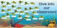 Ocean Themed Classroom Decorations | Turtle Classroom Decor