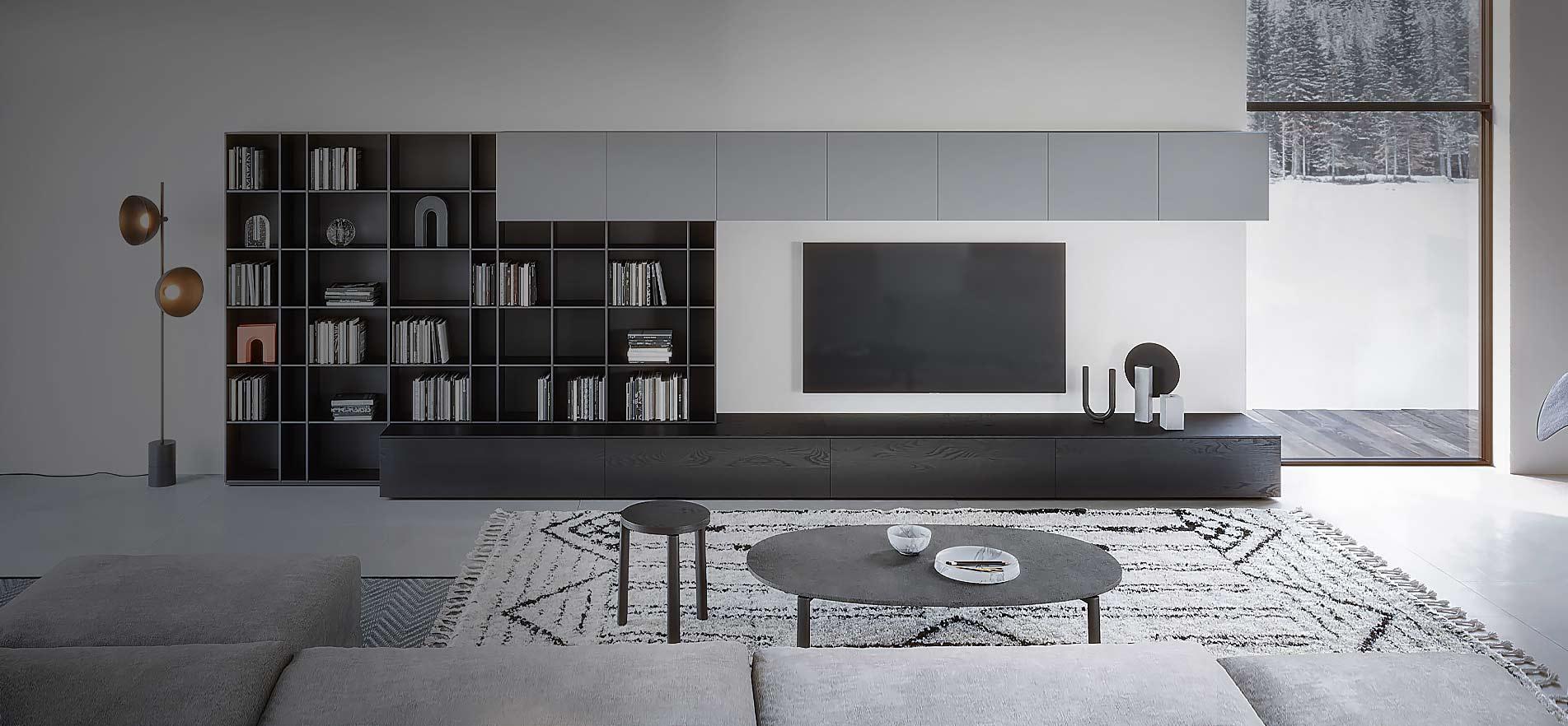 Design Lowboard  Shop  240 270 300 cm TV Lowboard
